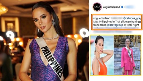 catriona gray vogue thailand