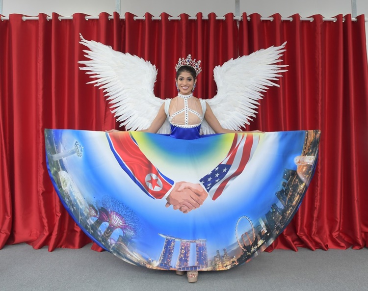 Miss Universe Singapore 2018 national costume