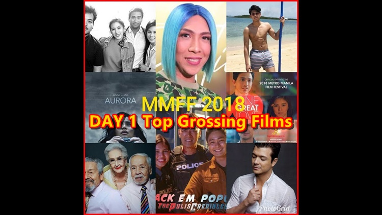 MMFF 2018 day 1 top grossing films