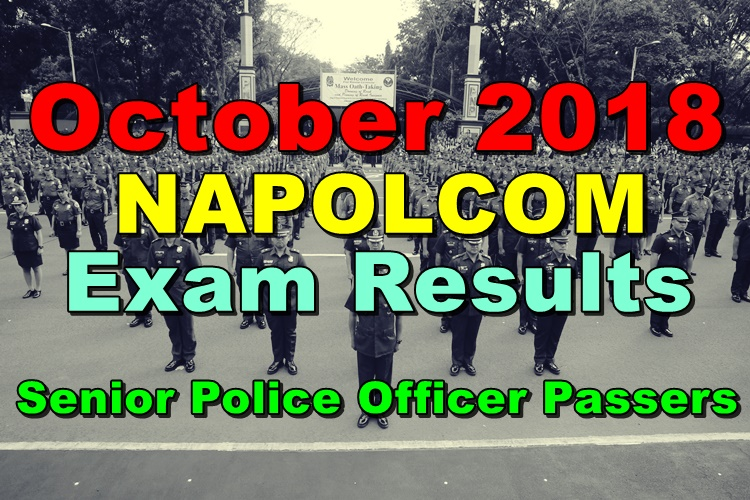 NAPOLCOM Exam Results
