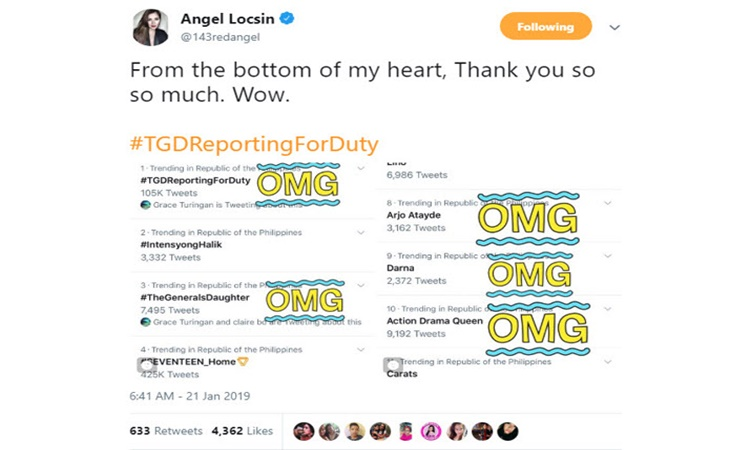 Angel Locsin the general's daughter 1