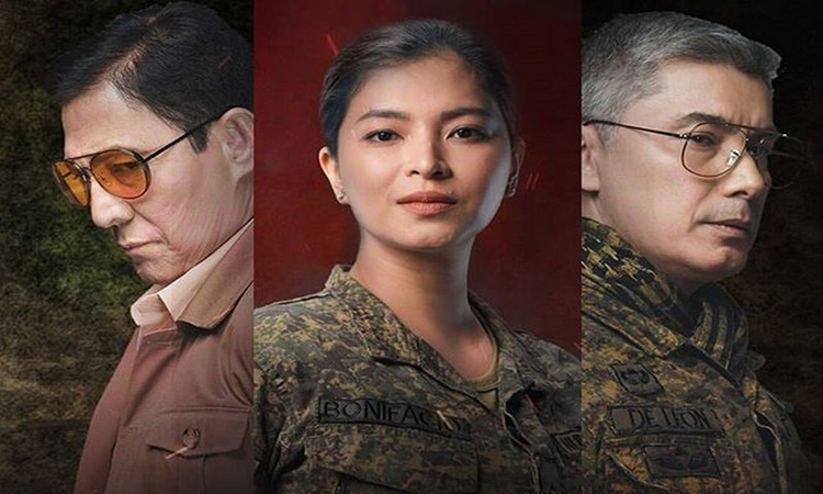 Angel Locsin the general's daughter