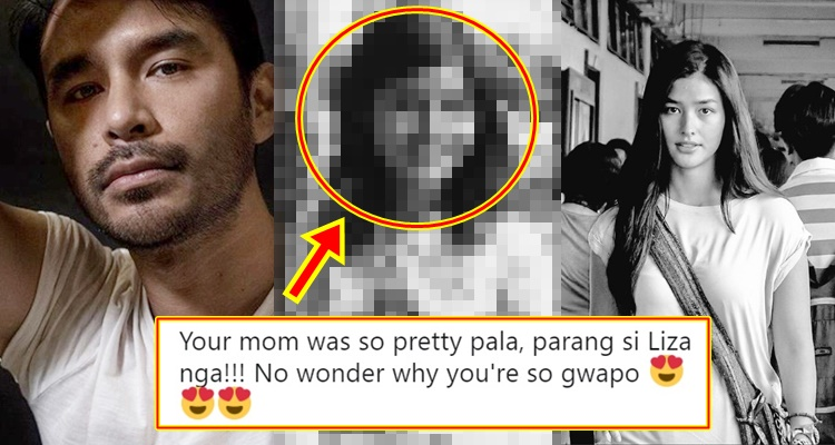 Atom Araullo Mother