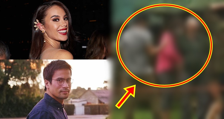 Catriona Gray Spotted