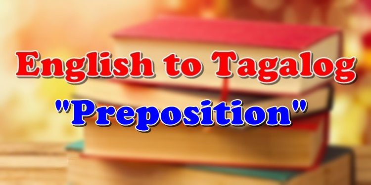 English To Tagalog Preposition