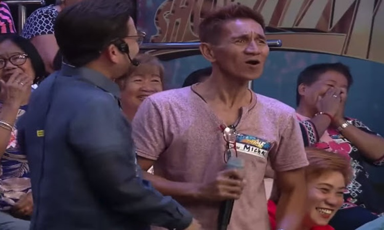 Father of contestant