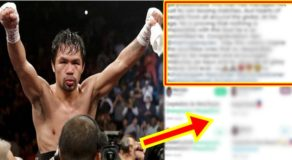 Filipino Celebrities Expresses Opinion On Manny Pacquiao's Latest Victory