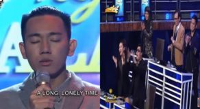 Tawag Ng Tanghalan: Here's Heart-Breaking Performance Of John Michael Dela Cerna That Received Standing Ovation