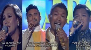 Tawag Ng Tanghalan Semi Finals Performances For 2nd Quarter (Day 2)