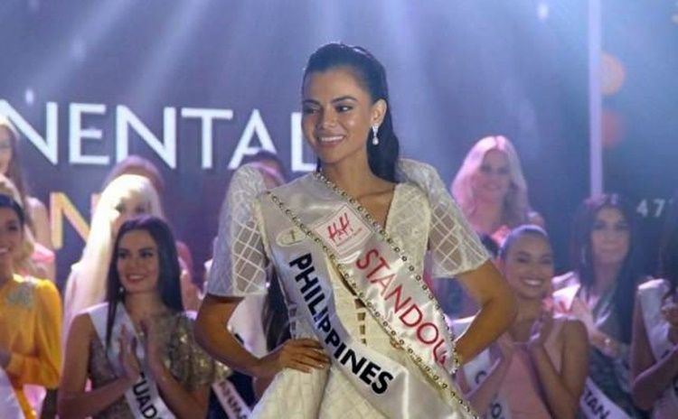 Miss Intercontinental PH Karen Gallman