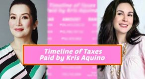 Kris Aquino Replies To Gretchen Barretto With Timeline Of Taxes She Paid