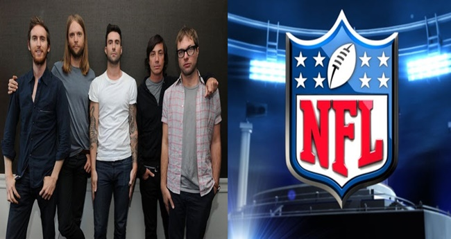 maroon 5 on NFL