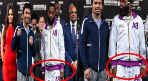 Adrien Broner Spotted Wearing Two Watches Before Fight, Lucky Charm?