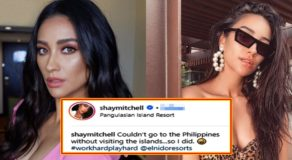 Lea Salonga's Hollywood Actress Cousin Shay Mitchell Loves Palawan