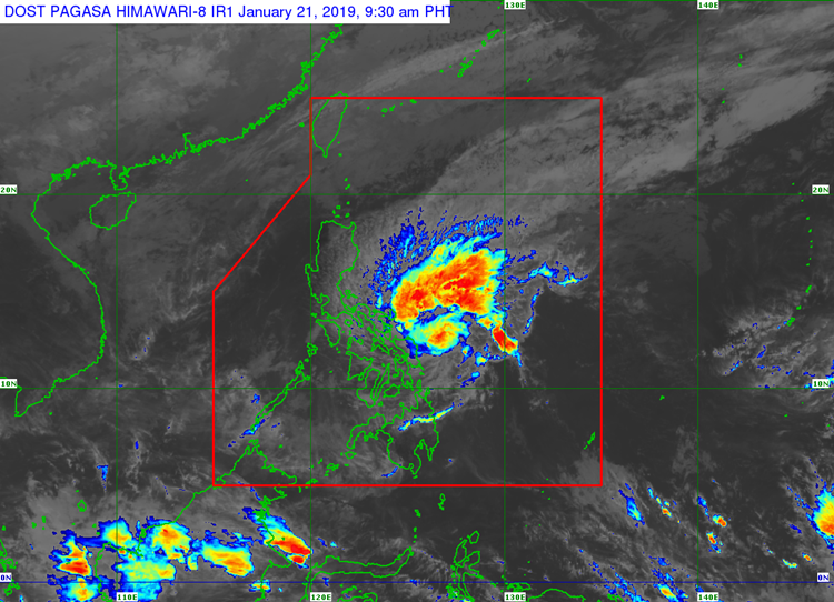 Tropical Depression Amang