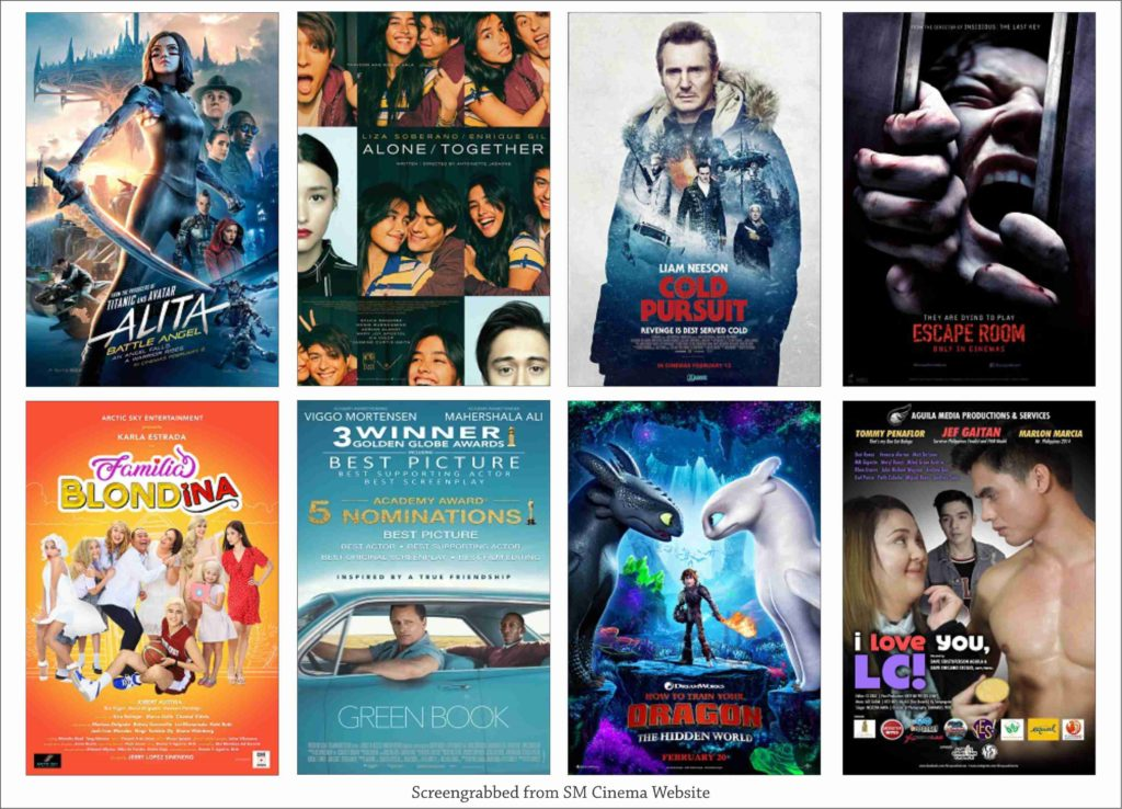 SM CINEMA: List Of Movies Showing Today March 2, 2019