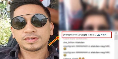 Ang Probinsyano Actor Jhong Hilario Takes MRT Ride