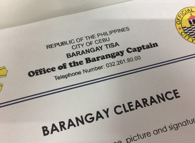 BARANGAY CLEARANCE Steps In Getting A Barangay Clearance