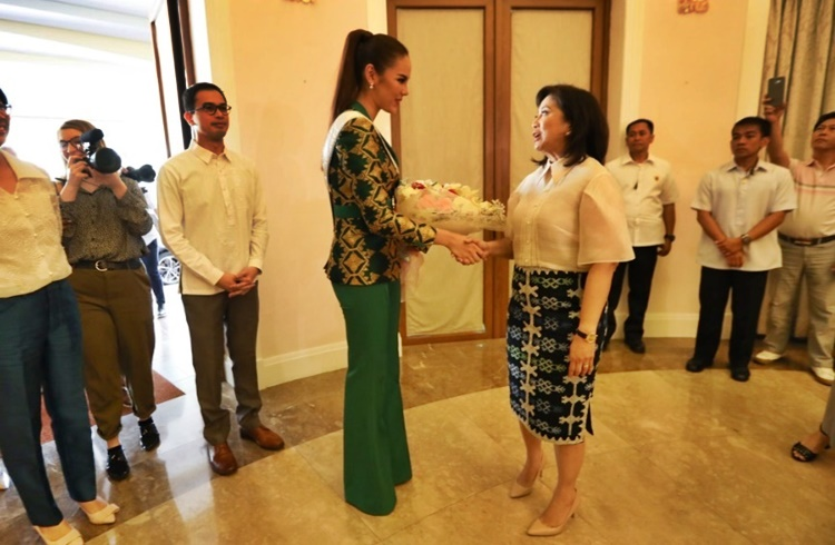 Catriona Gray Courtesy Call