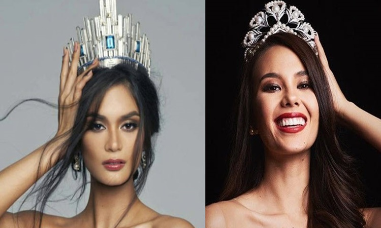 Catriona and Pia