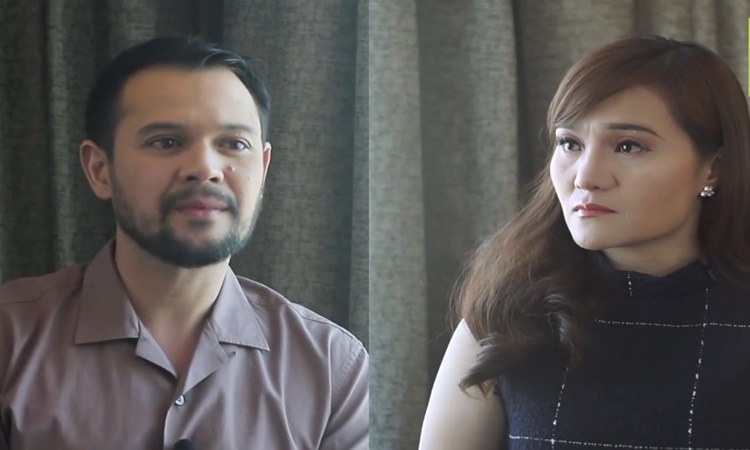 Gladys Reyes and Christopher Roxas Cry