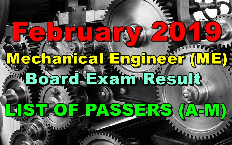 Mechanical Engineer Board Exam