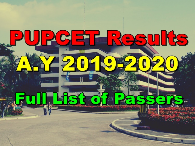 PUPCET Results