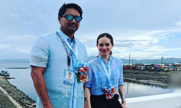 Richard Gomez and Lucy