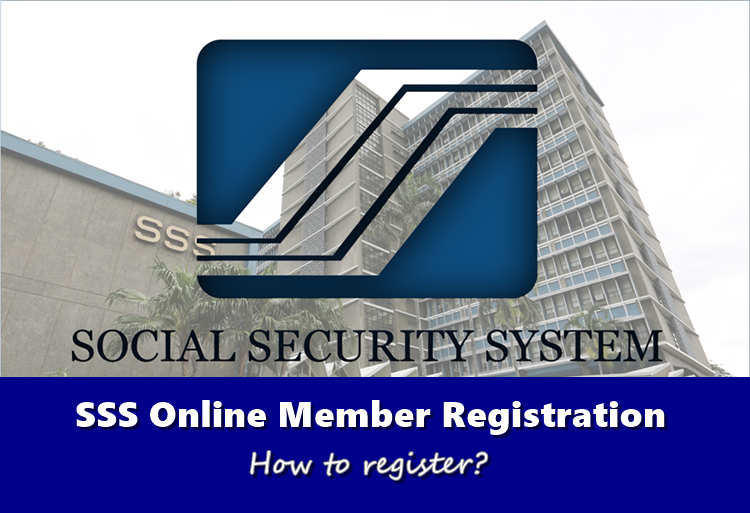 SSS Online Member Registration How To Register