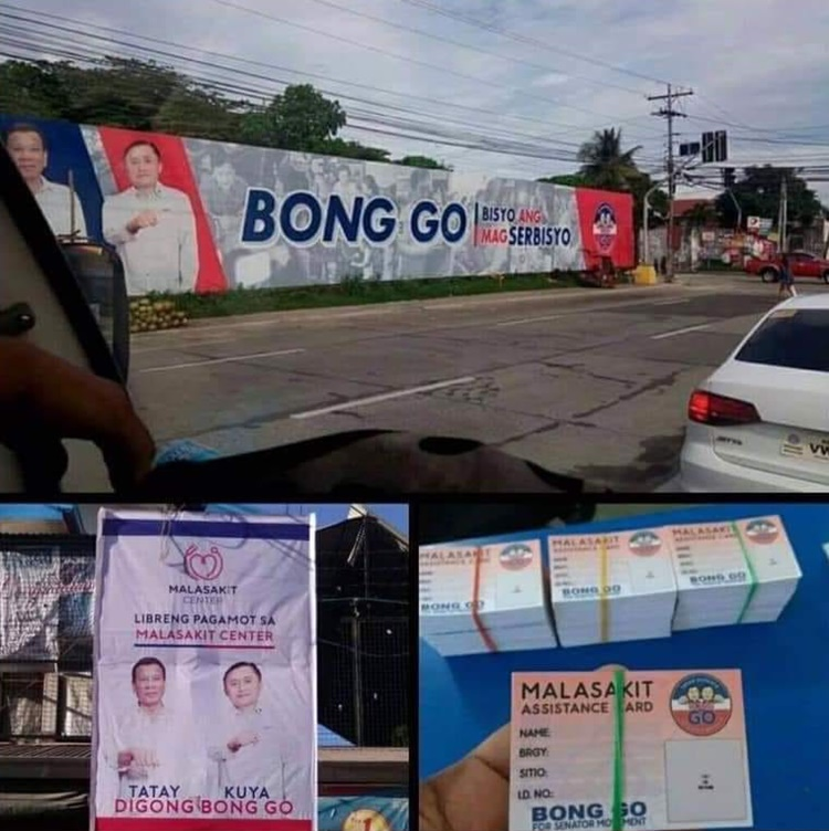 bong go posters