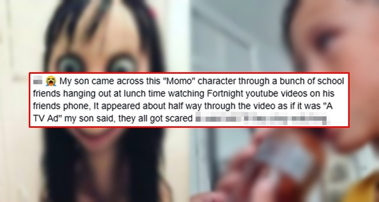 Mom Captured On Video Alarming Effect Of Momo Challenge To