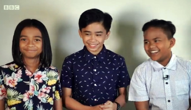 f4599e6df25529 TNT Boys  BBC Features The Young Filipino Singers