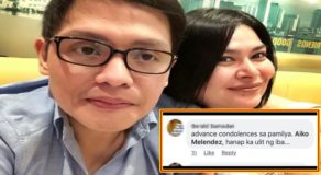 "Aiko Melendez Lambasted Condolence Message Following Boyfriend's Issue Being Included In ""Narco-List"""