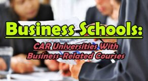 Business Schools: CAR Region Universities With Business-Related Courses