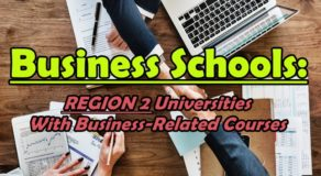 Business Schools: REGION 2 Universities With Business-Related Courses