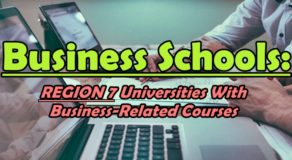 Business Schools: REGION 7 Universities With Business-Related Courses