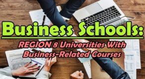 Business Schools: REGION 8 Universities With Business-Related Courses