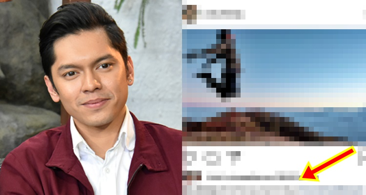 Carlo Aquino Intriguing Post