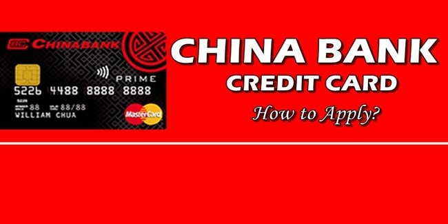 """china bank credit card how to apply for """"prime mastercard"""""""