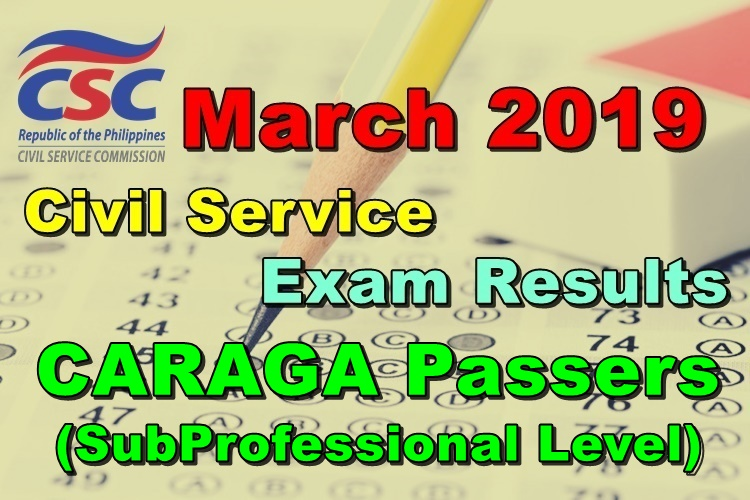 Civil Service Exam Results CSE-PPT