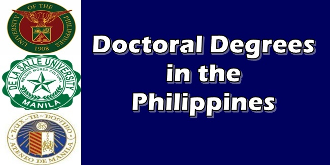 Doctoral degree coursework