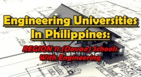 Engineering Universities In Philippines: REGION 11 (Davao) Schools With Engineering Courses