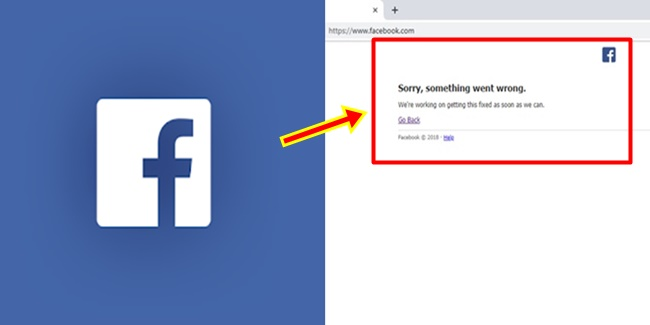 Facebook Desktop Version Down