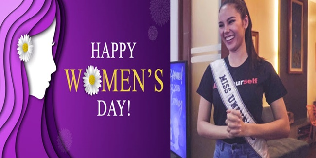 International Women's Day Catriona Gray