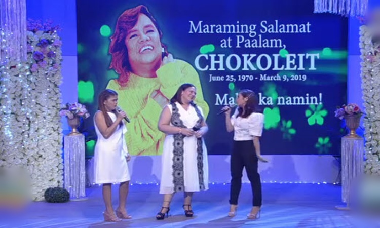 Karla Estrada on Chokoleit