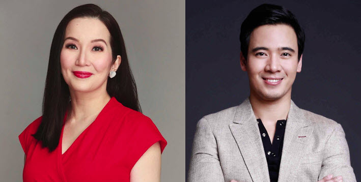 Kris Aquino and Erik