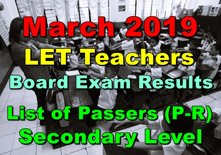 LET Teachers Board Exam
