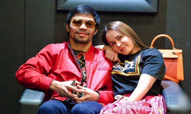 Manny Pacquiao and Jinkee