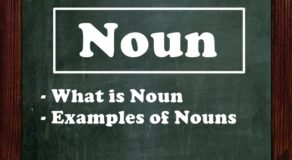 NOUN: What Is Noun & Examples Of Nouns | Parts Of Speech