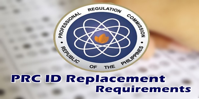 PRC ID Replacement Requirements List